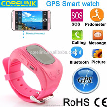 2015 4-7 kids SOS and Tracking Smart watch phone