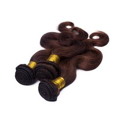In Stock Cheap Price Virgin Brazilian Hair body wave chocolate brown hair color