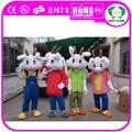 2015 chino año nuevo animal de la historieta de cabra, de cabra mascota de vestuario, de cabra de disfraces para adultos