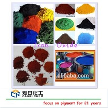Superior Large-scale factory sell iron oxide brown for rubber tile/concrete colorant dye/making brown red paint