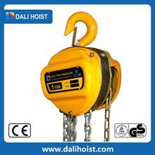 We supply capacity 245kn 24.5t combined steel lifting chain block