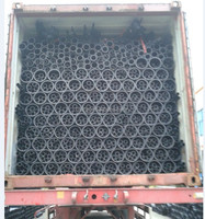 manufacturing DIN8074 Black 50mm recycled hdpe pipe for water supply