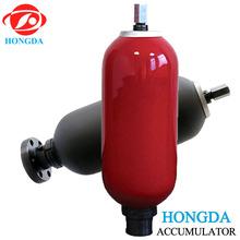 20 Mpa NBR bladder carbon steel hydraulic accumulator for hydraulic power unit