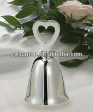 Silver Plated Bell Place Card Holders