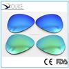 cr-39 blue polarized wholesale sunglass lenses, semi finished optical lens blanks