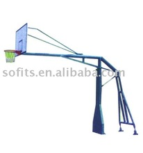 Sofits Basketball Set Inground Basketball System at a Longer Rib with Basketball Board
