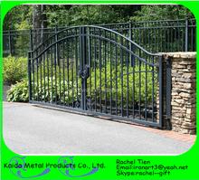 steel modern main gate designs for homes / garden arch wrought iron gate