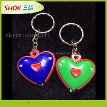 Hot Selling Reflective LED Keychain For Promotional Mini Gift
