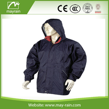 fashional design cheap 100% waterproof motorcycle outdoor polyester man jacket with hood