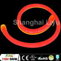 AC110V 4.8W Disco Deco Led neon flex tube, #LY-CL-110V-SR