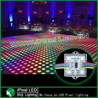 digital led pixel module WS2801 with 4pcs 5050 RGB