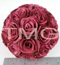 Paper Rose Ball for Decoration and Air Freshener.