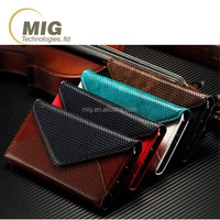 For iphone 6s Phone case Envelope Flip PU Leather Wallet Case and TPU back case Frame case