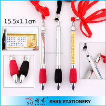 Advertisement banner ballpoint pen with spare part