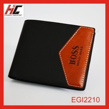 Aliexpress explosion models Branded fashion genuine leather wallet with money clip for men wholesale