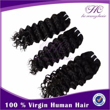 Hot Items 2015 High Quality Durable/Smooth 18 Inch Brazilian Virgin Human Hair Extensions Hair