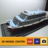 Port Passenger ship model