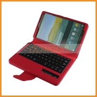 Bluetooth Version 3.0 Multi-language Slide Wireless Bluetooth Keyboard Case for Samsung Tab S 8.4 inch T 700 705