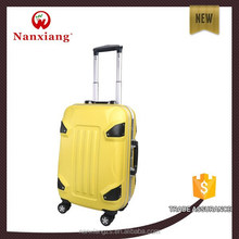 ABS+PC aluminum frame hardside trolley luggage bag
