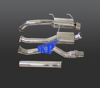 Catback Exhaust System For Toyota MR2 Celica 2.0 Turbo ST185 GT4 1989-1994 (Fits: Toyota Celica)