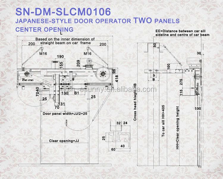 selcom vvvf puerta piezas  puerta fermator sistema  ascensor