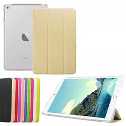 For iPad Mini 4 Smart Cover, High Quality Smart Leather Cover for iPad Mini 4