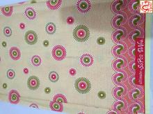 Batik blusa diseño / tela vintage / inglés impresión de la cera