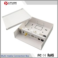 mini audio video/USB/HDMI/RCA/BNC/3.5/RJ45/VGA multi-media connection box