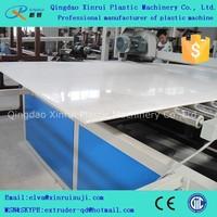 pvc plastic building board production line