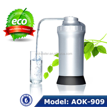 Super 8 layer Non-electronic filtering system alkaline water ionizer AOK-909,100% Natural and BPA free