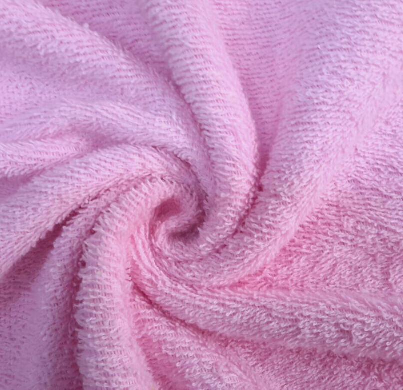 Bamboo Fiber Cleaning Cloth Bamboo Terry Towelling Fabric
