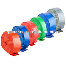 PVC agricultural delivery flat hose