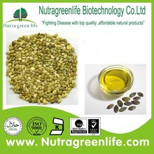 factory supply pure naural pumpkin seed oil prostatic