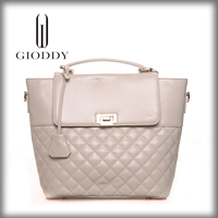 2014 new fashion leather handbag for women no minimum order handbags