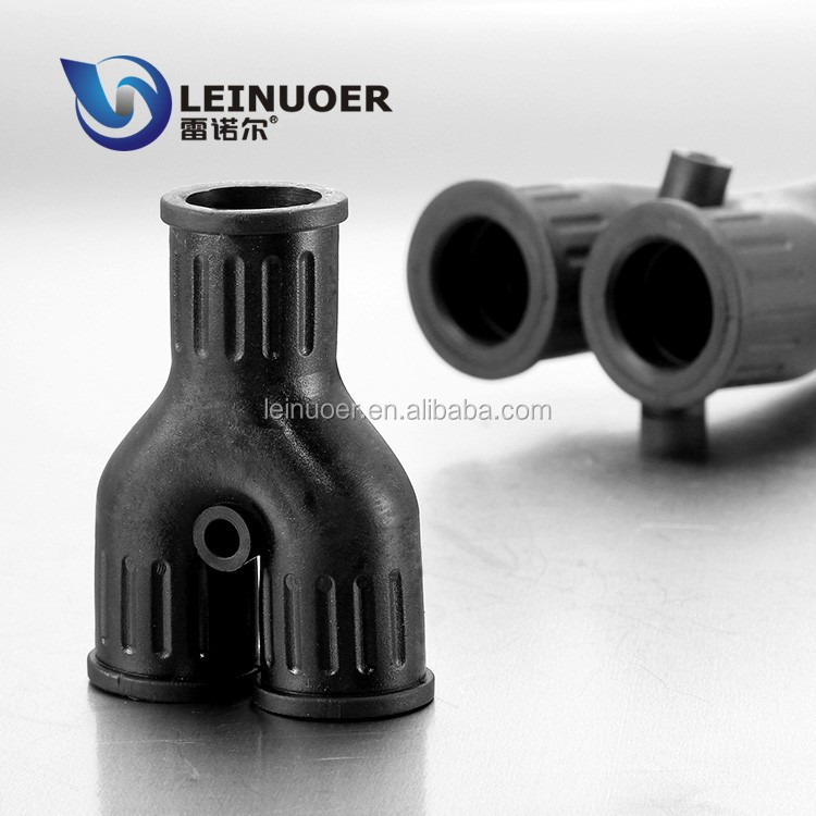 Way y shaped rubber pipe fittings union connector buy