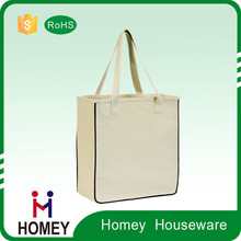 2015 Newest Factory Price Oem Collapsible 10Oz Cotton Canvas Tote Bag