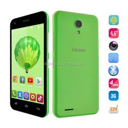 Original Colorful Iocean X1 Quad core 1gb ram 8gb room 4.5'' IPS QHD Screen 3G wcdma Android 4.4 unlocked mobile phone