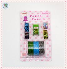 Hot sale rolls tape with mini tape dispenser set, decoration sticker for nail art