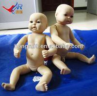 Medical Nursing baby model,plastic 24 inch interactive cheap baby newborn doll
