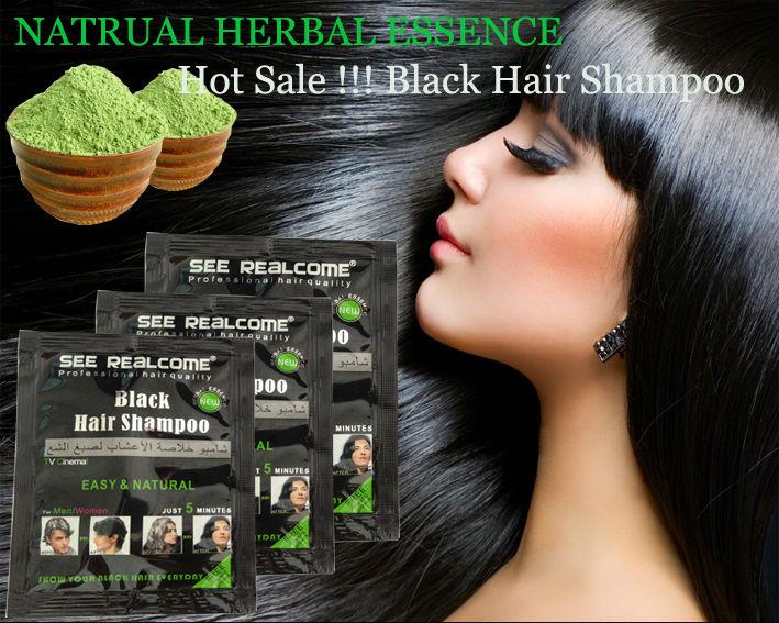 Natural Black Henna Hair Dye Hair Color Vcare Shampoo Dye 5 Mins Dye Black Ha