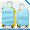2014 new design pc+abs travel luggage with retractable wheels
