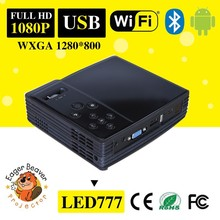 Android 4.2.2 Portable DLP Projector , Wi-Fi, DLNA, 1080p Support