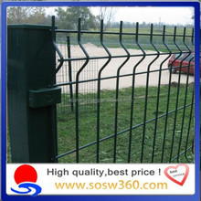 High security galvanized / PVC coated Metal fence