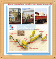 CSPM CE approved professional 2t/h wood logs sawdust forest residues pellet production line