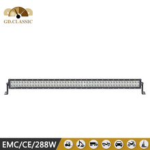 Whole sale cheap price Straight led light bar, KR9027-288 50'' IP67 off road led light bar used for vehicle heading