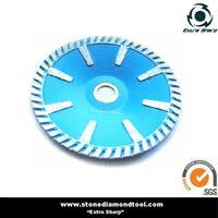 High Quality Diamond Turbo Curved Cutting Disc
