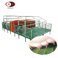 Pig farm in india BMC material pig farrowing pens used farrowing crates