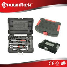 "29pcs 1/4""Good Quality Mechanical updated car tool kit socket wrench set"