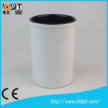 ceramic brush pot for put pen with high quality
