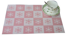 China Factory Cheap Modern Placemat PVC Table Mat
